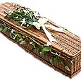 """2.4 - """"The European"""" Natural Willow Coffin*"""