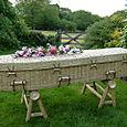 6.1- E-coffin Bamboo, Fine Weave