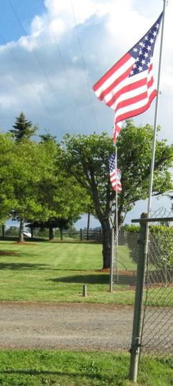 Rest Lawn Entrance