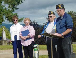 Memorial Day at Rest Lawn Memorial Park in Junction City, Oregon