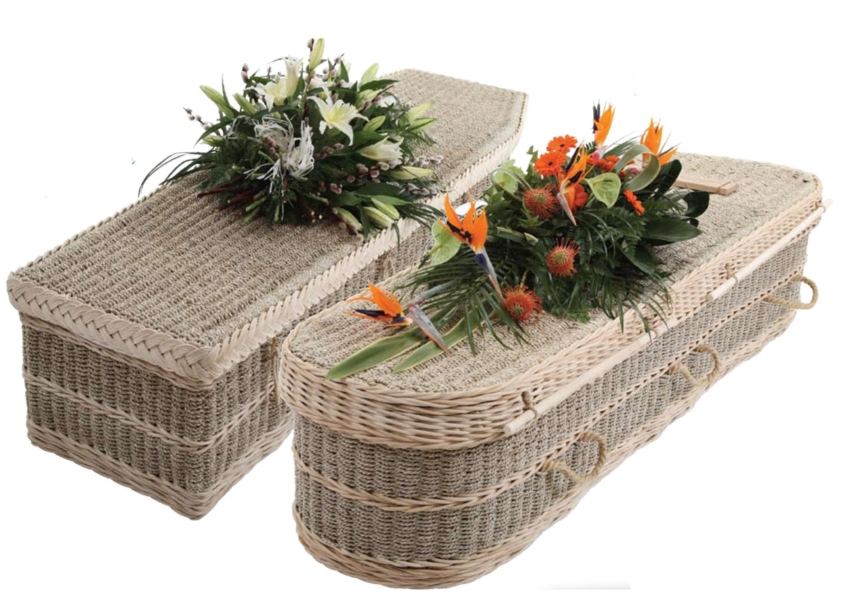 The Sea-Garden, Seagrass and Cane Coffin