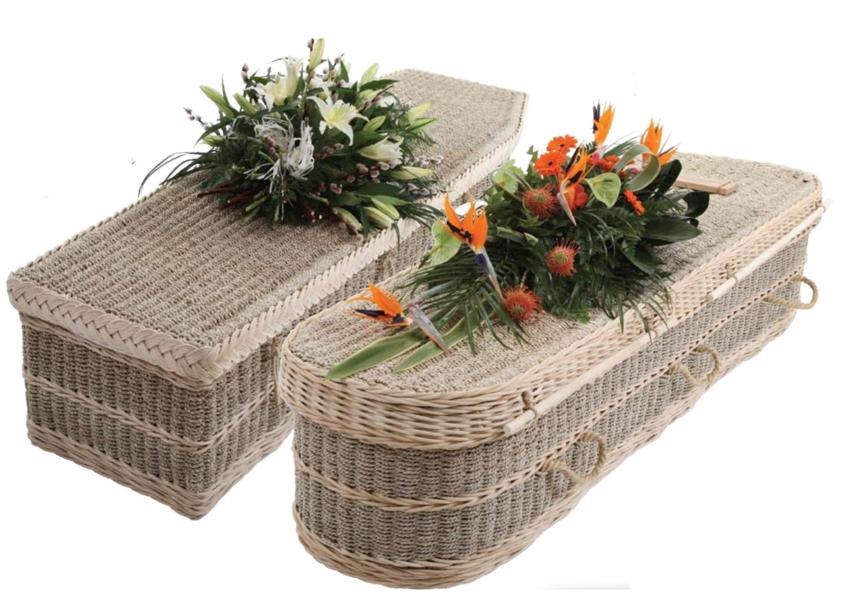 The Sea-Garden, Seagrass and Cane Coffin